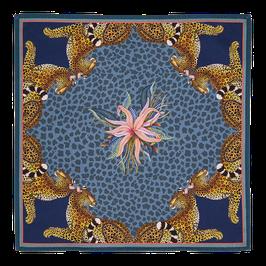 Serviette Leopard Lily frost
