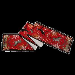 Tischläufer Sabel in Royal Rot