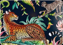 Tischset Leopard Night