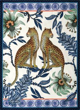 Leopards Blue