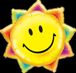 26531 XXL Folienballon Sunshine Smile Face - Sonne