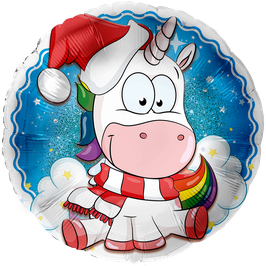 L5326 Einhorn Weihnachten