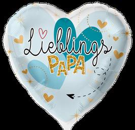 8803K Folienballon LieblingsPAPA