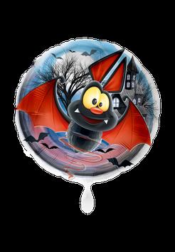 Folienballon Halloween Fledermaus