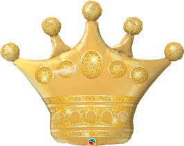 XXL Ballon Geburtstag: 49343 Goldene Krone