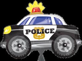 Folienballon Polizei Auto (Police)