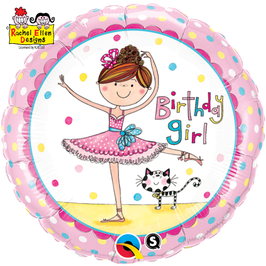 Ballon Geburtstag Rachel Ellen: Birthday girl