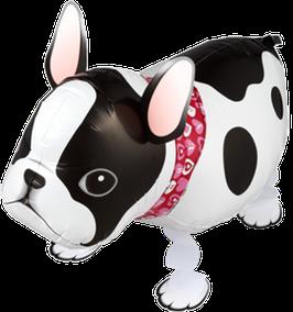 Airwalker: Tier-Luftballon Hund Bulldogge