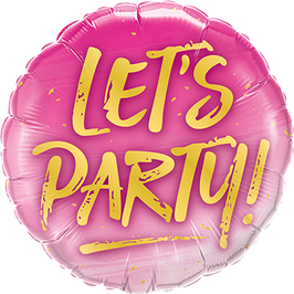 Ballon Geburtstag: 57301 Let´s Party