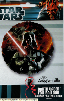 STAR WARS Darth Vader Folienballon (unbefüllt)