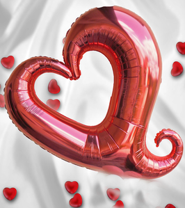 150079 Folienballon Chain of Hearts