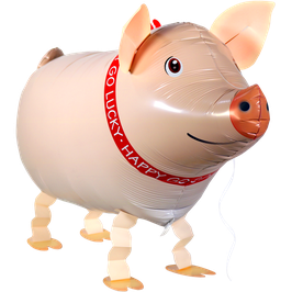 Airwalker: Tier-Luftballon Glücks - Schwein