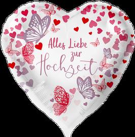 Folienballon Hochzeit: Hochzeit Alles Liebe