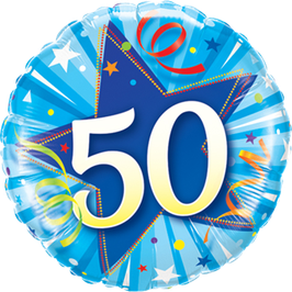 Ballon Geburtstag: Happy Birthday 50