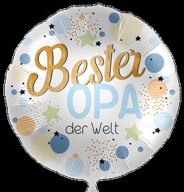 """70301K Folienballon """"Bester Opa der Welt"""""""