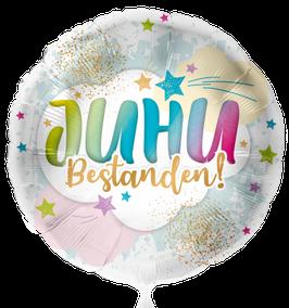 Folienballon Führerschein JUHU Bestanden