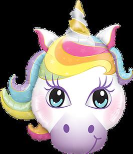 Ballon Geburtstag: XXL Magical Unicorn Einhorn