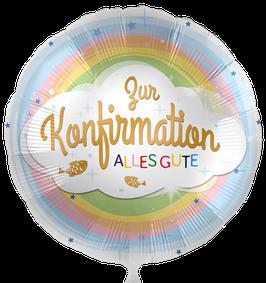 "5407K Folienballon ""Zur Konfirmation alles Gute"""