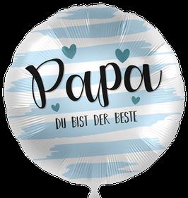 """70100K Folienballon """"Papa Du bist der Beste"""""""
