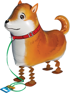 Airwalker: Tier-Luftballon Hund Shiba-inu