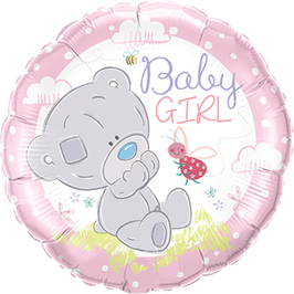 Folienballon Tiny Tatty Teddy Baby Girl