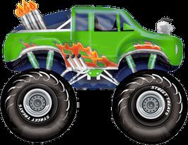 Folienballon Monster Truck