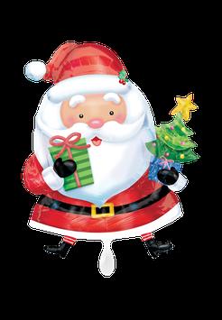 27229 XXL Weihnachtsmann