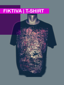 T-SHIRT FIKTIVA UNICAT NR.8 SIZE CLOTHING  M