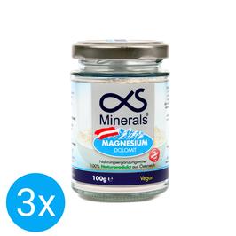 3er Vorteilspack Magnesium Austria 100g