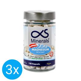 3er Vorteilspackung Magnesium Austria 120Stk