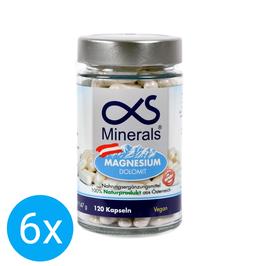 6er Vorteilspack Magnesium Austria 120Stk