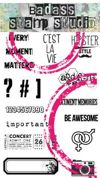 C'est la vie | BadAss StampStudio