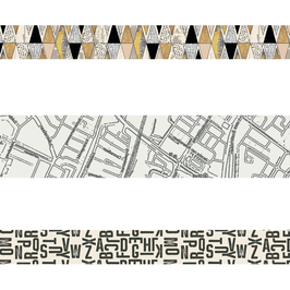 Letters washi | BadAss Stamp Studio by Marije