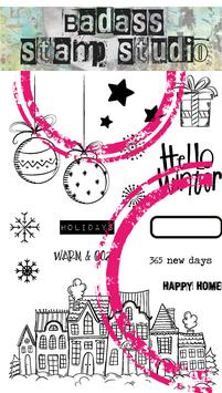 Hello Winter | BadAss StampStudio