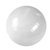 Kugel Schneequarz, 3,0cm (kalibriert) ungebohrt