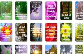 """Botschaften des Lichts """"Die Affirmationskarten"""""""
