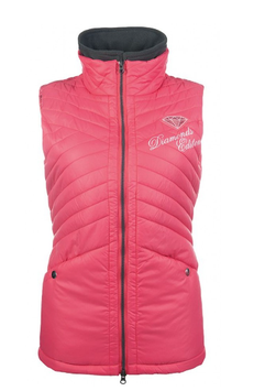 Riding vest Diamonds Pink Star  #H - 10770