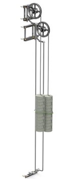 Abspannwerk-Zusatzmodul für Winkelmast