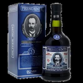 PRESIDENTE Martí Rum | 23 Jahre | 70 cl