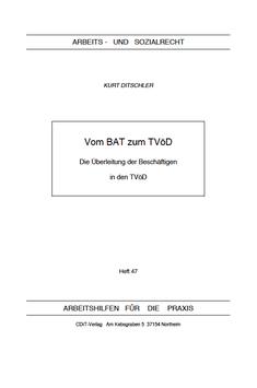 Vom BAT zum TVöD - AP 47