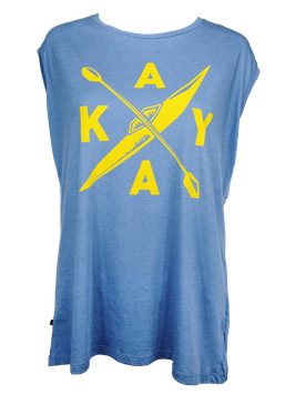 "Shirt ""Kayak"" // Vintage Blue"