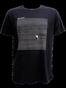 """Men T-Shirt """"Liquid"""" // Black"""