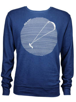 "Men Sweater ""Kite"" // Navy"