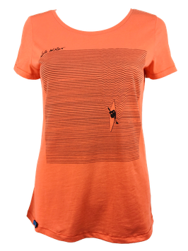 "Shirt ""Liquid"" // Hot Orange"
