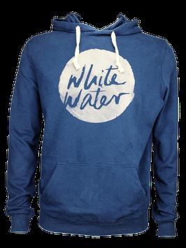 "Unisex Hoodie ""White Water"" // Navy"