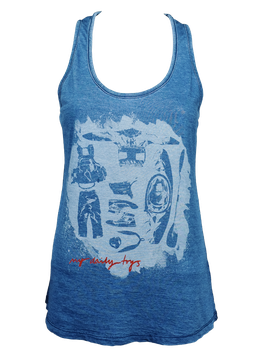 "Tanktop ""My Daily Toys"" // Denim"