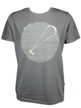 "Men T-Shirt ""Kite"" // Anthracite"