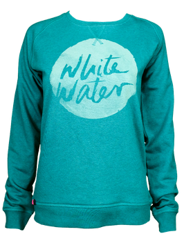 "Sweater ""White Water"" // Petrol"