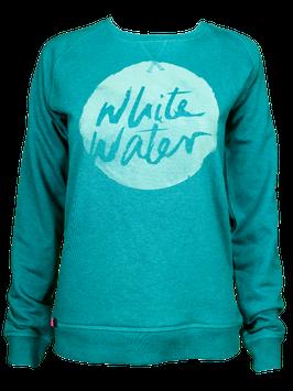 "Sweater ""White Water"" // Petrol"