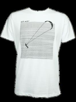 "Men T-Shirt ""Kite"" // White"